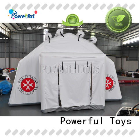 Powerful Toys inflatable dome tent practical top brand