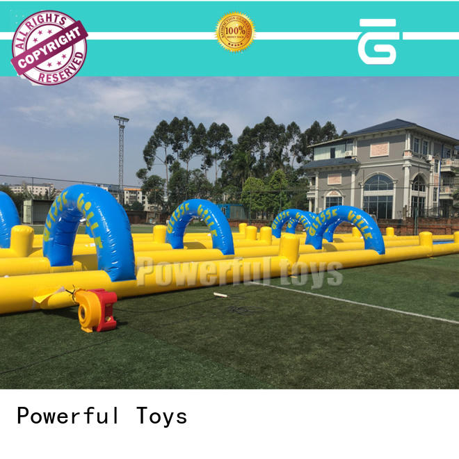 durable commercial inflatable water slides light weight