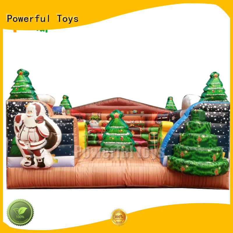 Powerful Toys inflatable bouncer castle top selling for wholesale