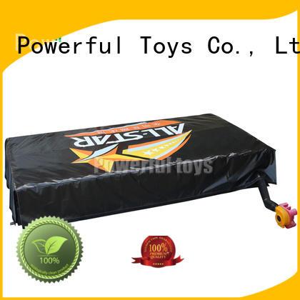 Powerful Toys wholesale jump air bag foam slide