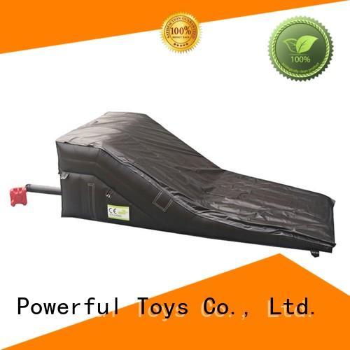 Powerful Toys airbag bmx landing for skiing