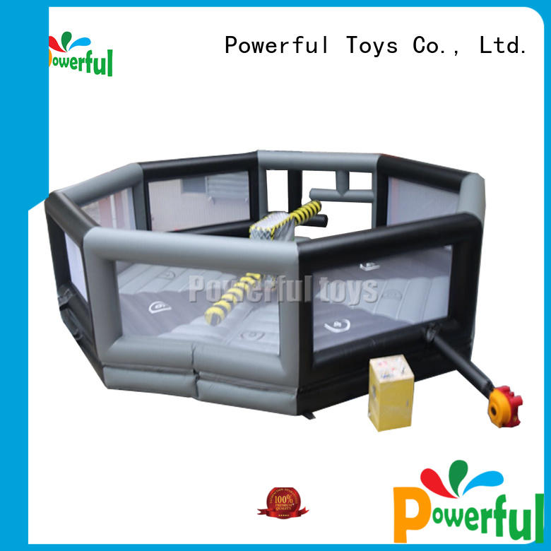 Powerful Toys wipeout inflatable outdoor best factory price
