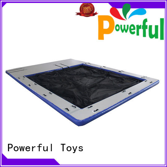 Powerful Toys high-quality commercial inflatable water slides light weight