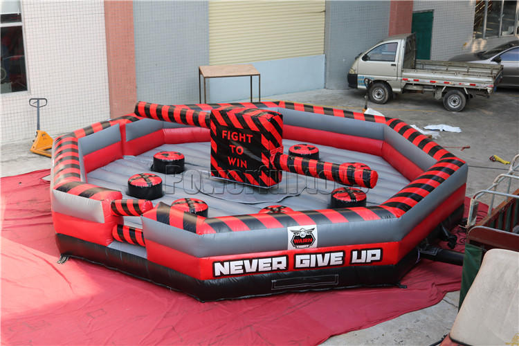 top brand wipeout inflatable light weight for amusement park-1
