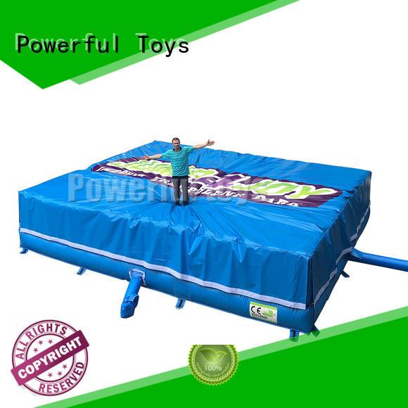 customized foam jump bulk for wholesale Powerful Toys