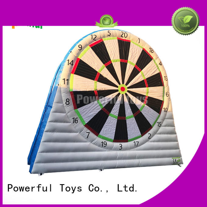 bulk production inflatable sports at discount for park Powerful Toys