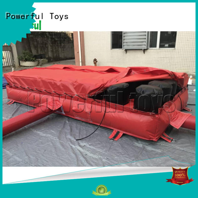 sports air track mat for park Powerful Toys