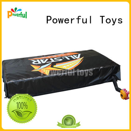 Powerful Toys trampoline air bag free delivery for wholesale