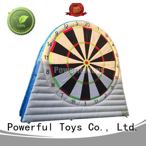 Powerful Toys foot darts light weight fast shipping
