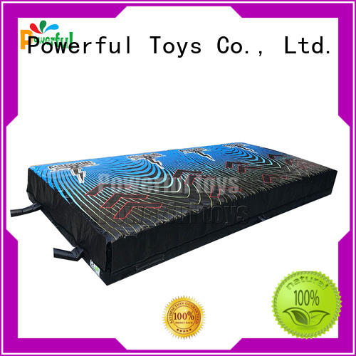 Powerful Toys airbag trampoline cheapest factory price
