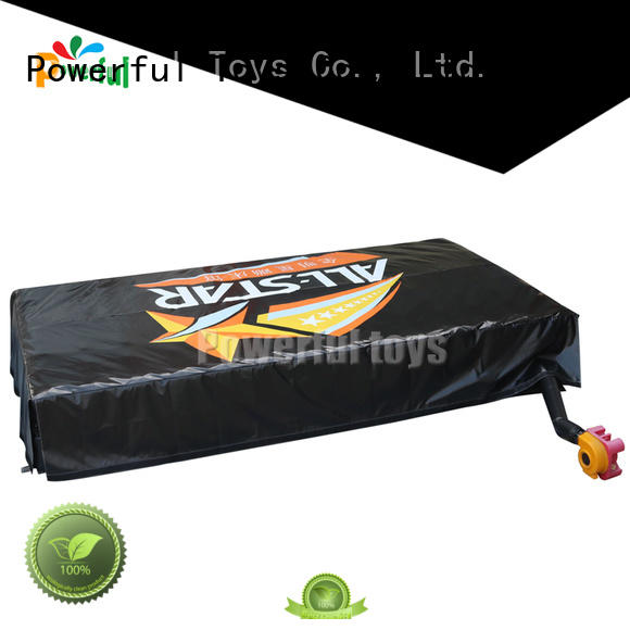 Powerful Toys ODM airbag trampoline for sale