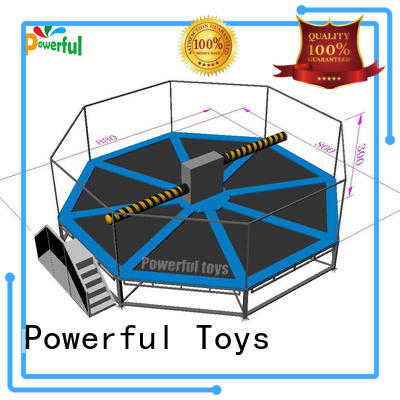 Powerful Toys top brand wipeout inflatable light weight for fun