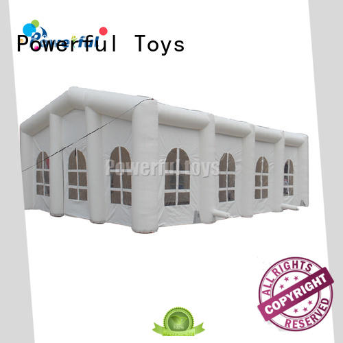 Powerful Toys inflatable wedding tent custom factory direct supply