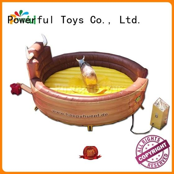 Powerful Toys custom mechanical bull riding top brand wholesale