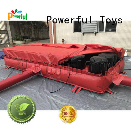 Mini inflatable jump foam pit airbag for trampoline park