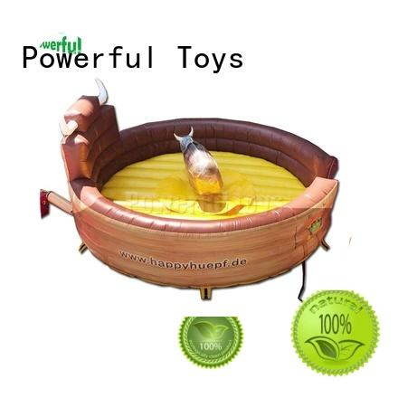 Powerful Toys best Inflatable rodeo bull high quality wholesale
