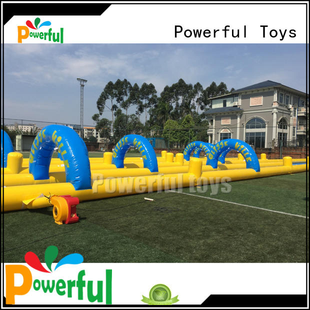 Powerful Toys water slide games top brand