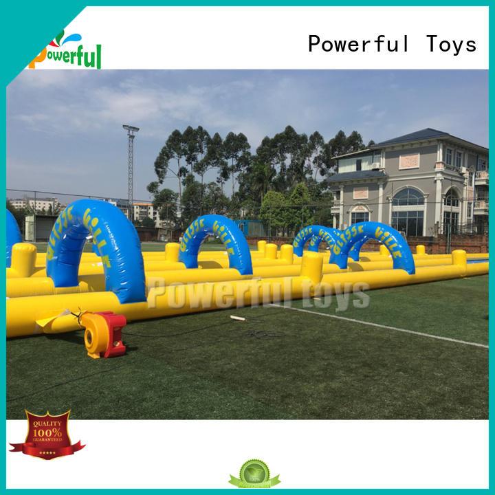 Powerful Toys popular water slide games OEM for fun
