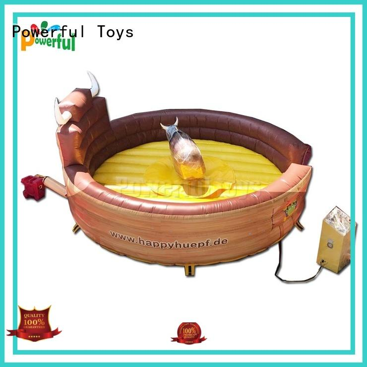 mechanical bull riding high quality wholesale Powerful Toys