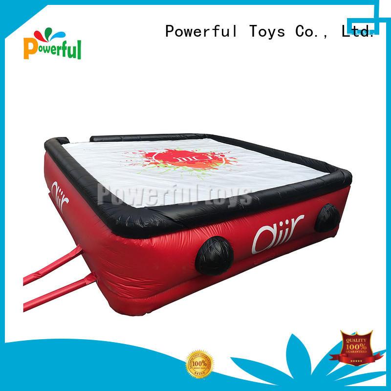 Powerful Toys custom inflatables gym slide