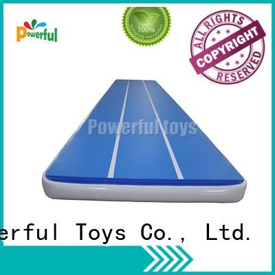 Powerful Toys air track trampoline for big trampoline
