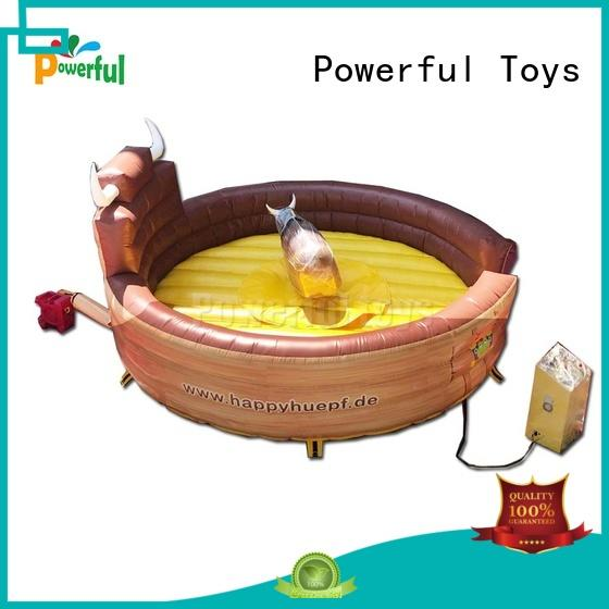 Powerful Toys Inflatable rodeo bull fast delivery at sale