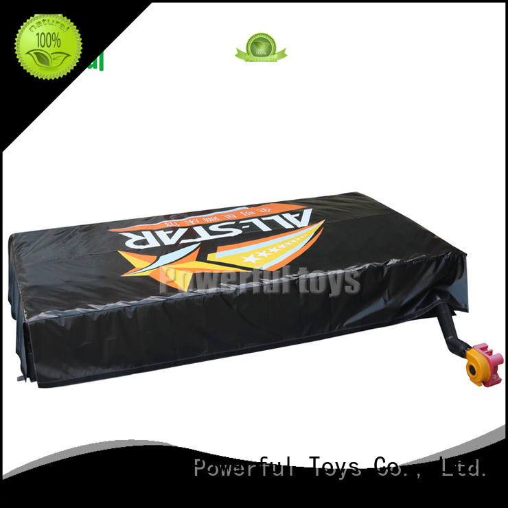 Powerful Toys wholesale jump air bag foam for sports