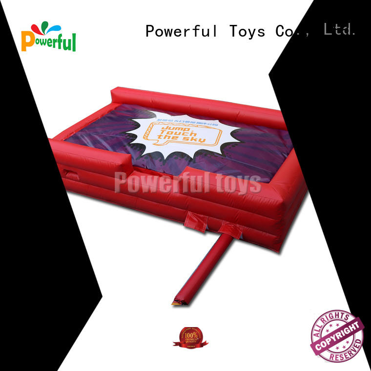 Powerful Toys customized foam pit air bag free delivery