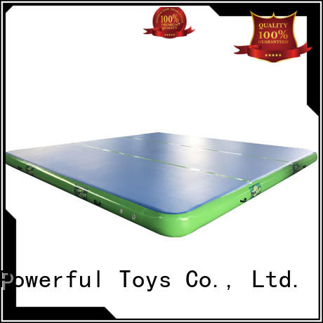 game air track factory mats floor for big trampoline Powerful Toys