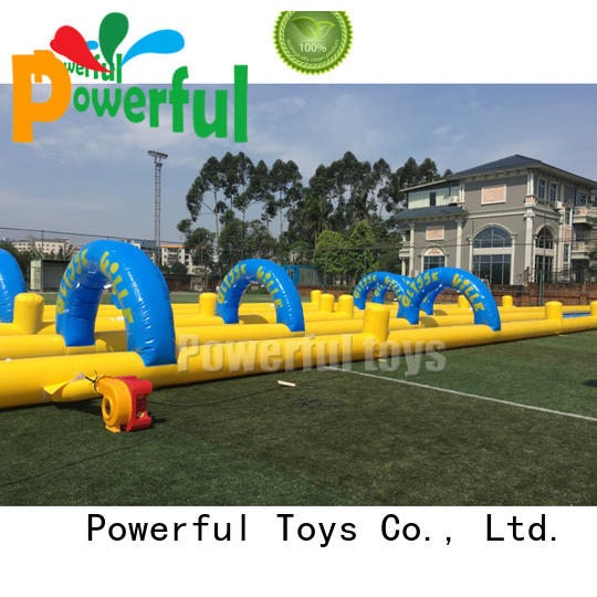 Powerful Toys high-quality blow up slide light weight