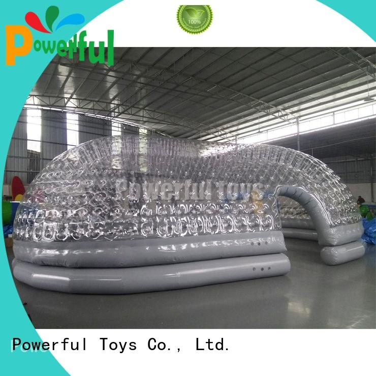 Powerful Toys high-quality inflatable tent sale factory direct supply