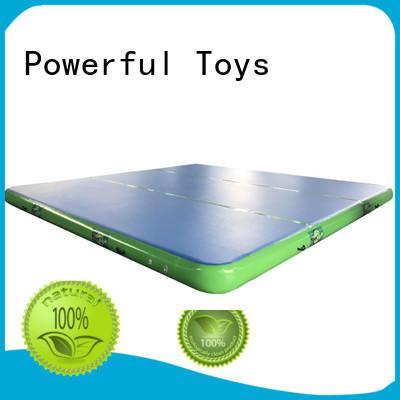 Powerful Toys gymnastic small air track gym for football
