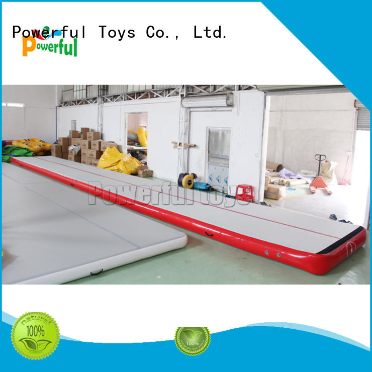 Powerful Toys air track tumbling mat top selling for big trampoline
