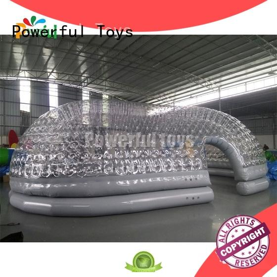 Powerful Toys chic inflatable wedding tent practical factory direct supply