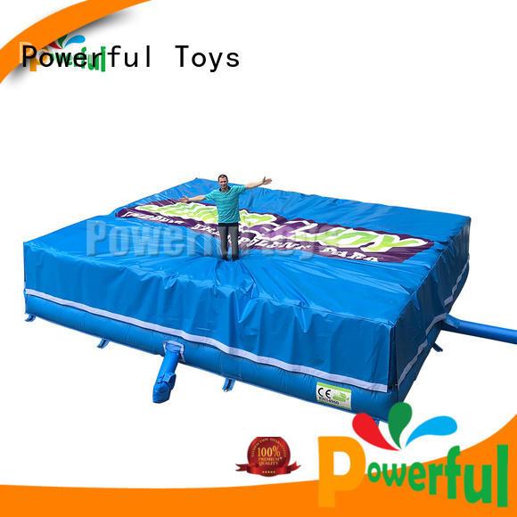 Powerful Toys landing foam pit air bag bulk for amusement park
