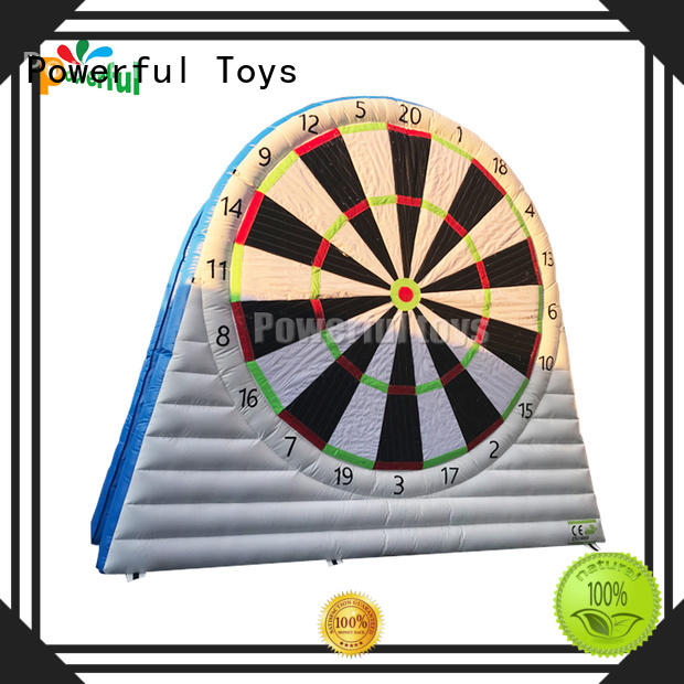 Powerful Toys inflatable football dart light weight oem&odm