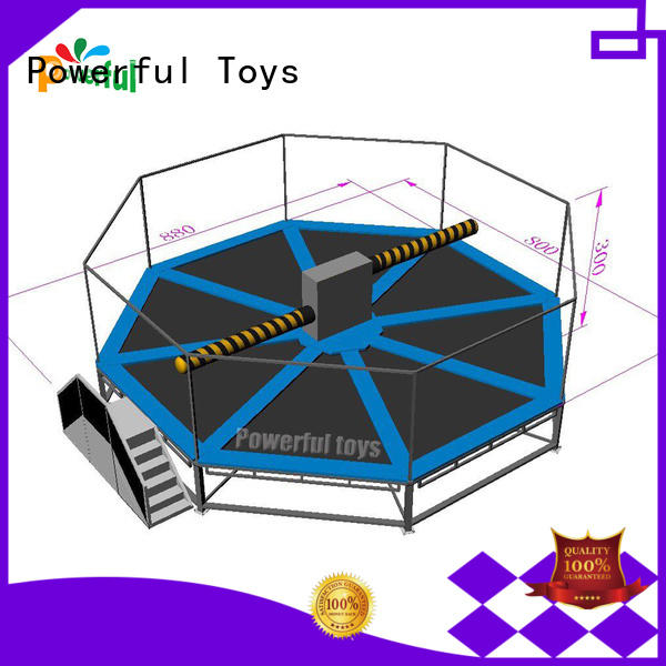 Powerful Toys factory price inflatable sports games bulk production for snowboard