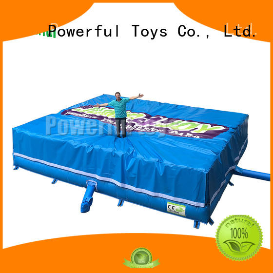 trampoline air trampoline free delivery for sale Powerful Toys