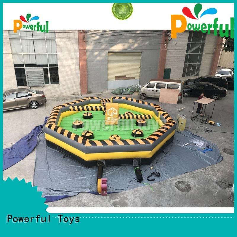 bulk production inflatable sports games top selling for skateboard Powerful Toys