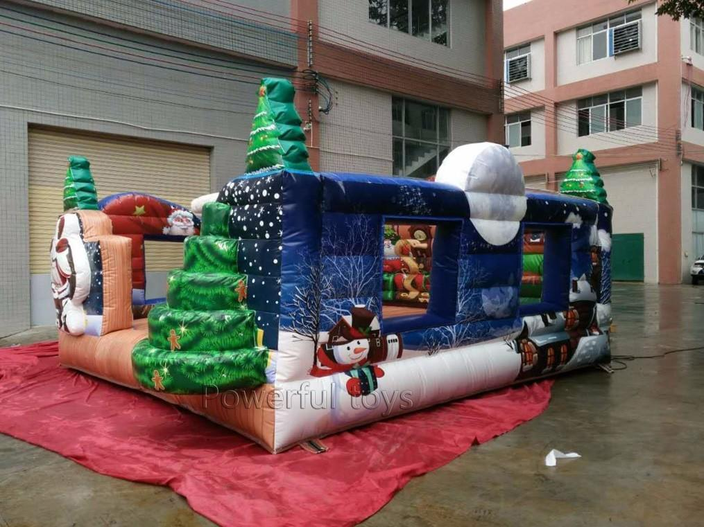 Powerful Toys popular inflatable bouncer castle top selling for customization-2