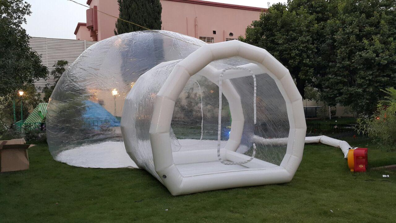 Powerful Toys inflatable dome tent top brand-2