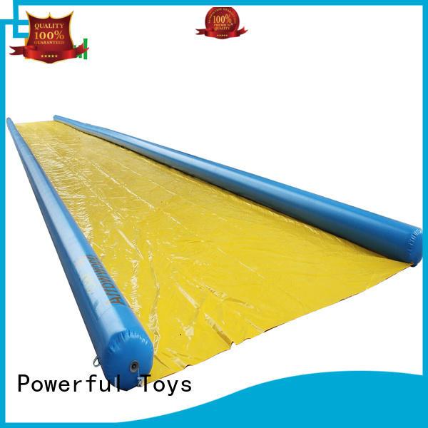 20X3m inflatable water slip n slide for city