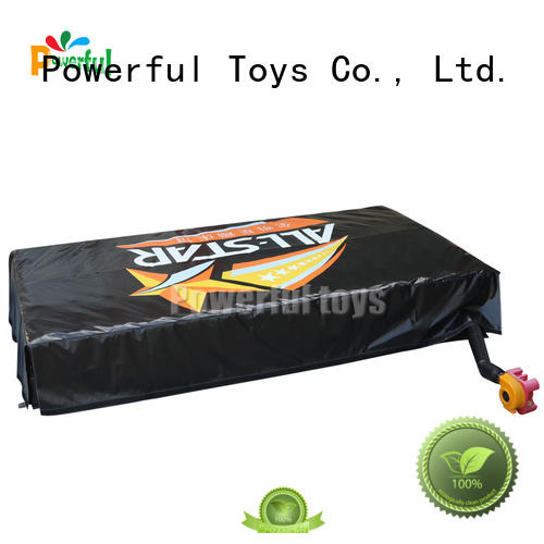 Powerful Toys mat jump air bag airbag hall
