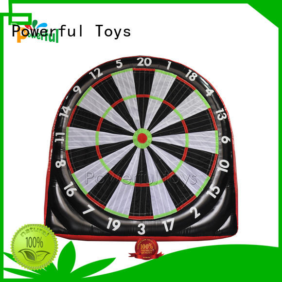 Powerful Toys latest inflatable football dart light weight oem&odm