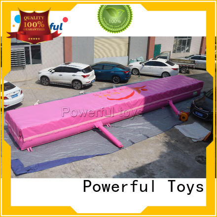 Powerful Toys trampoline airbag for amusement park
