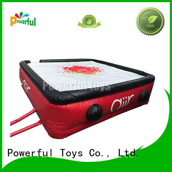 Powerful Toys wholesale air track mat for trampoline