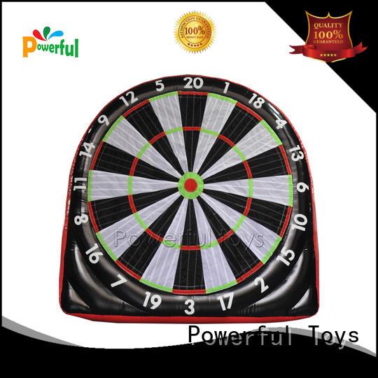 Single side 3m H inflatable dart football board