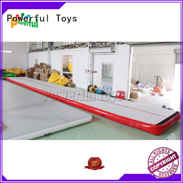 15m inflatable air track mat for gym hall