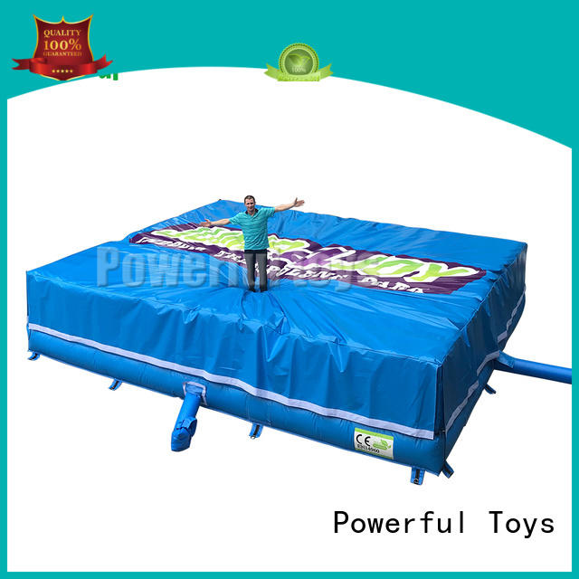 foam pit airbag at discount Powerful Toys