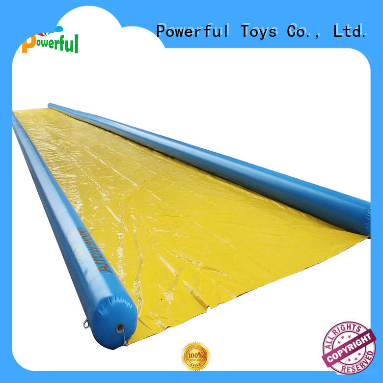 Powerful Toys durable inflatable water play light weight amusement park